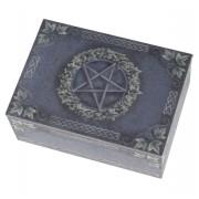 cutie (decor) taroc Pentagramă - B1773E5