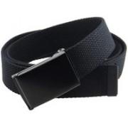 BC Belts Men Casual Black Fabric Belt
