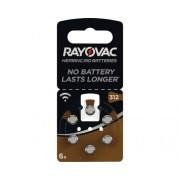 Baterii aparat auditiv Rayovac 312 1,45V 160mAh, 6 bucati