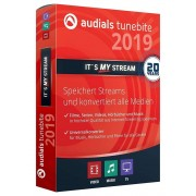 Audials Tunebite 2019 Platinum music software download consegna immediata.