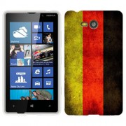 Husa Nokia Lumia 820 Silicon Gel Tpu Model Germany Flag