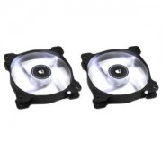 Ventilator 120 mm Corsair SP120 White LED Twin Pack