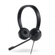 Слушалки Dell UC350 Pro, микрофон, USB, 3.5mm jack, черни