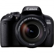 Canon 800D 24MP WiFi/Bluetooth + Objetiva EF-S 18-135mm F3.5-5.6 IS STM
