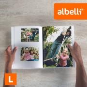 Albelli Fotoboek Maken - Staand Large 21x28 cm met Fotokaft of Linnen Kaft