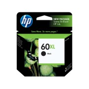 Original HP No.60 / CC641WA Black XL ink Cartridge