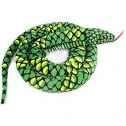 Lazada Realistic Stuffed Giant Boa Constrictor Dolls Plush Snake Toys Green Over 5. 5 Feet Long