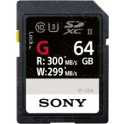 Sony SF-G With Sony Card Reader 64 GB SDXC Class 10 300 MB/s Memory Card(With Adapter)
