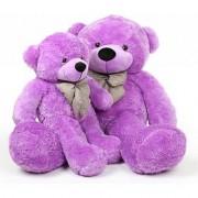 PRIYA TOYS Combo Offer Pack of Two Purple Teddy Bear 3 Feet & 4feet