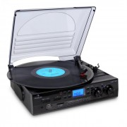 Auna TT - 186E Turntable stereo cu înregistrare USB MP3 (MG-186E)