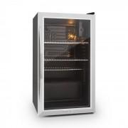 Klarstein Beersafe XXL frigider 80 litri usa de sticla, clasa A din oțel inoxidabil (HEA-Beersafe-XXL)