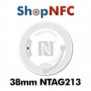 NFC Stickers NTAG213 Round ø38mm