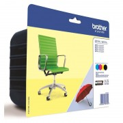Brother LC-225XL/LC-229XL Pack de 4 Tinteiros
