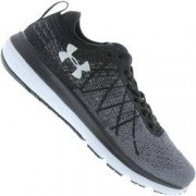 Under Armour Tênis Under Armour Threadborne Fortis - Feminino - PRETO/CINZA CLARO