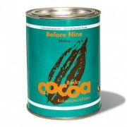 "Becks Organic cocoa Becks Cacao ""Before Nine"" with mint, 250 g"