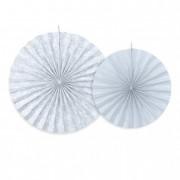 Körlegyező papír 23,32,40cm szürke-kék (2 db/szett)