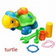 Puzzle Building Toys Develop Learning Fun Tools NEW EDS Build A Train Kids Toy (Turtle) by Lovestore2555