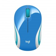 Mouse Logitech M187 Inalambrico Optico USB Azul 910-005360