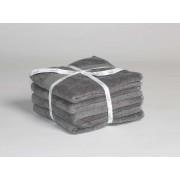 Yumeko Handdoeken dark grey - 4 st