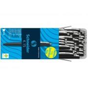 PIX CU MECANISM SCHNEIDER K15, 50 bucati /cutie, corp si scris negru