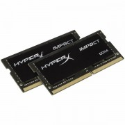 Kingston 32GB 2400MHz DDR4 CL14 SODIMM (Kit of 2) HyperX Impact, EAN: 740617252316 HX424S14IBK2/32