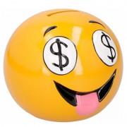 Geen Smiley geld ogen spaarpot 12 cm