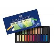 Cutie Creioane Pastel Soft Mini Faber-Castell 24 culori/cut