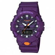 reloj digital analogico estandar casio g-shock GA-800SC-6A-purpura
