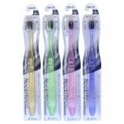 DENTAL CARE «Nano Charcoal Toothbrush» Зубная щётка c древесным углём, сверхтонкой двойной щетиной (мягкой и супермягкой) и компактной головкой, 1 шт.