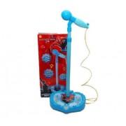 Microfon de jucarie Karaoke cu mufa mp3 Spiderman