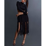 Deconstructed Panelled Skirt