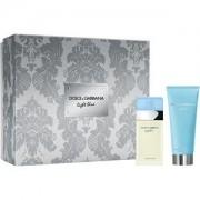 Dolce&Gabbana Perfumes femeninos Light Blue Gift Set Eau de Toilette Spray 25 ml + Refreshing Body Cream 50 ml 1 Stk.