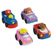 Fisher Price Little People Wheelies All About Trucks