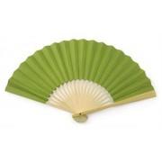 Olive Green Paper Hand Fan
