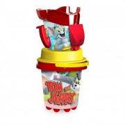 Tom és Jerry kancsós homokozó készlet, 5 részes