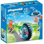 Playmobil speed roller con robot blu 9204