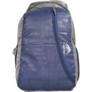 TREKKERS NEED Waterproof Light Weight Casual Backpack School Bag in Navy and Grey colour 30 L Backpack(Multicolor)