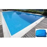 Ökopool medencefólia szögletes 3,5 x 7 x 1,5m / 0,8mm kék #016312