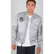 Alpha Industries MA-1 VF NASA Jacket Silver M