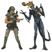 Alien bábu - Hicks vs. Battle Damaged Blue Warrior - 51396