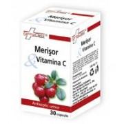 Merisor & vitamina c 30cps FARMACLASS