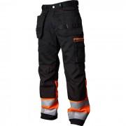 Vidar Workwear V500452D104 Hantverksbyxa orange/svart D104
