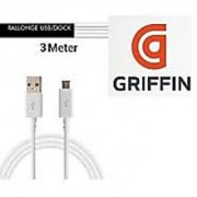 Griffin Sync Charging Data Cable For Samsung Sony Micromax HTC Xolo Intex Lava