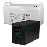 Комплект ИБП Инвертор Энергия Гарант 750 + Аккумулятор 100 АЧ