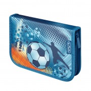Penar echipat 31 piese dimensiune 20,3x14x3,5cm, motiv EX Soccer