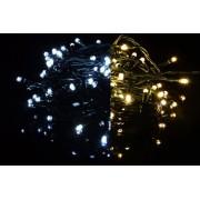Karácsonyi fényfüzér 40 LED - 9 villogó funkció, színváltó - 3,9 m