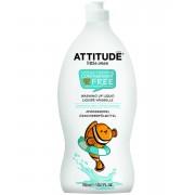 Lichid de spalat vase si biberoane, fara parfum Attitude 700 ml