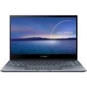 Ultrabook ASUS 13.3 ZenBook Flip 13 UX363EA-EM082R, FHD Touch, Procesor Intel Core i5-1135G7 (8M Cache, up to 4.20 GHz), 8GB DDR4, 1TB SSD, Intel Iris Xe, Win 10 Pro, Pine Grey