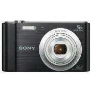 Sony Máquina Fotográfica Compacta DSC-W800 (Preto - 20.1 MP - ISO: 100 a 3200 - Zoom Ótico: 5x)