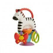 Mattel Fisher Price Aktywizująca Zebra z Przyssawką FGJ11